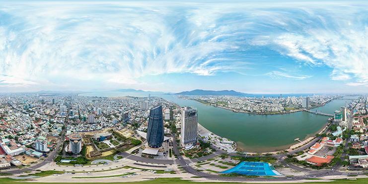 Chụp ảnh 360, 360 Virtual Tours, Google Business View : Trung tâm hành chính Đà Nẵng