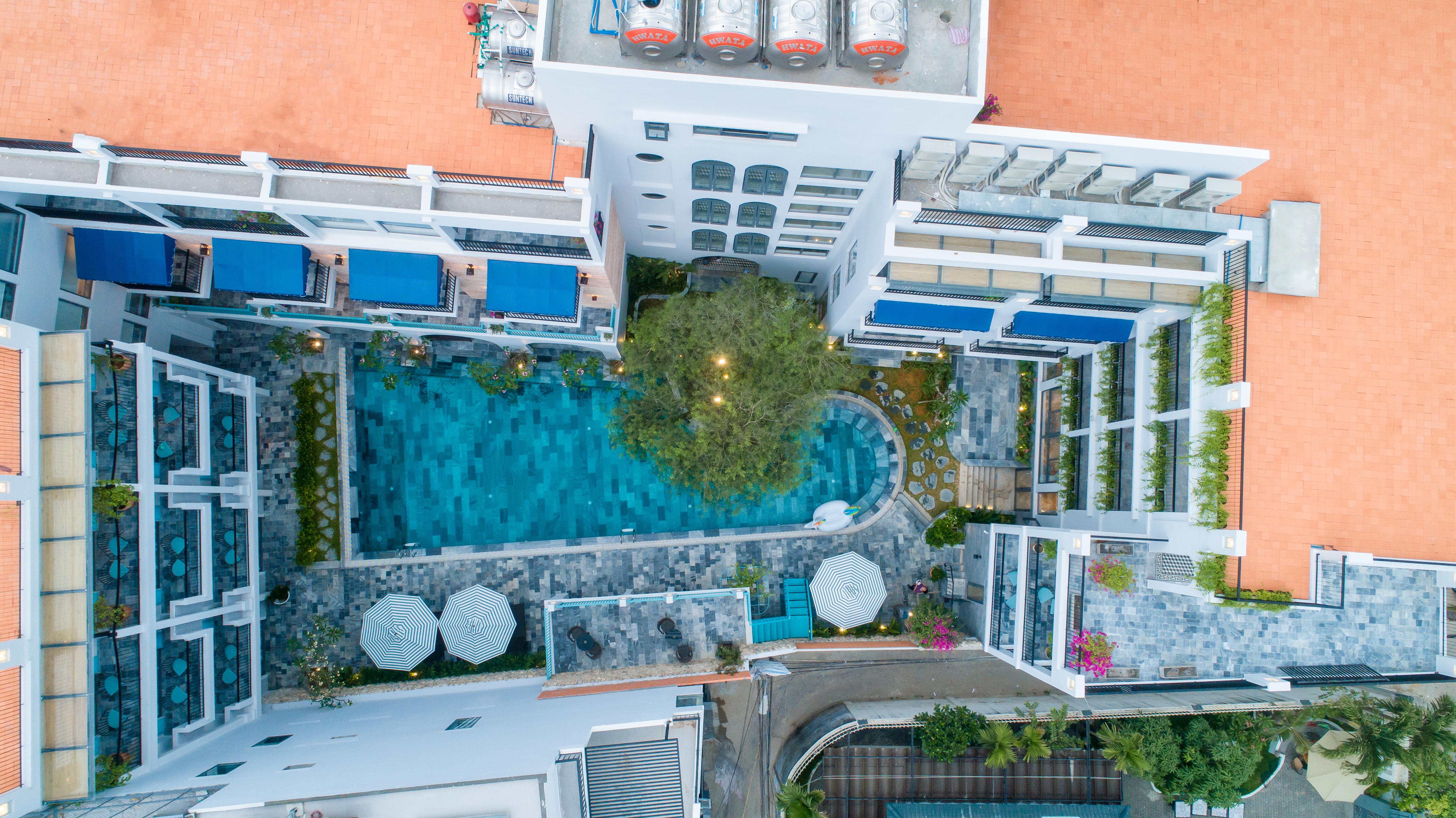 Chụp ảnh kiến trúc nội ngoại thất khách sạn hotel resort: Salmalia Boutique Hotel & Spa, Đà Nẵng