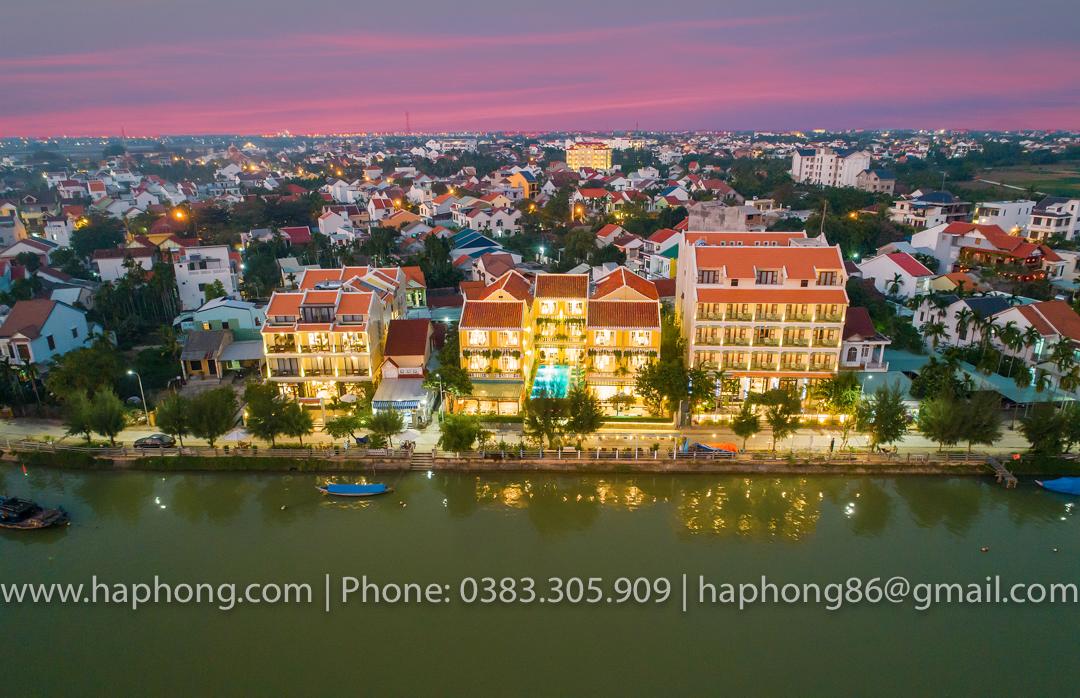 TRIPLE Riverside Villa HoiAn