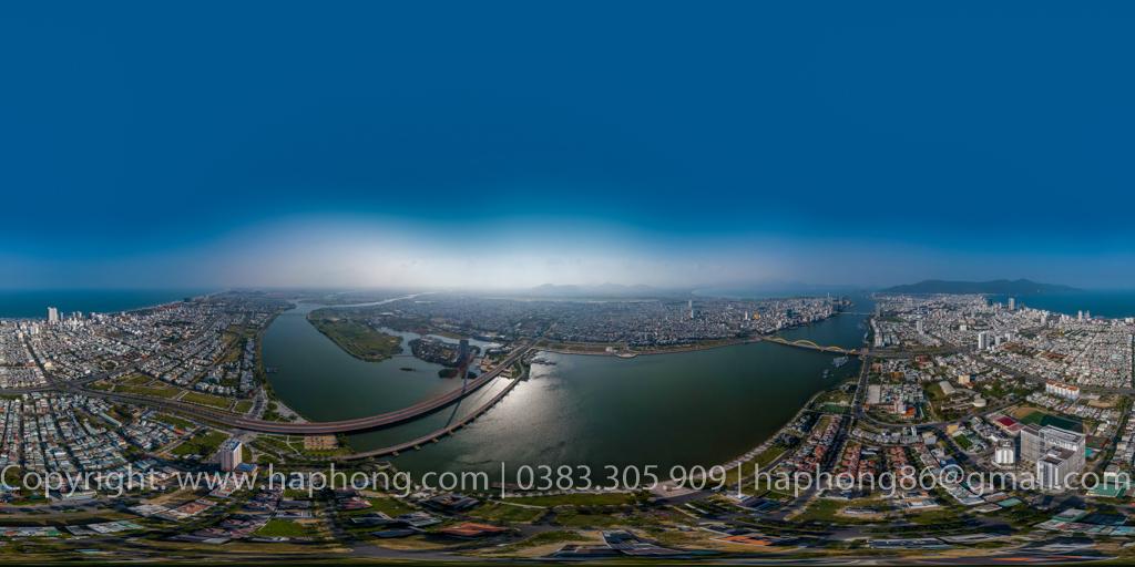 Chụp ảnh 360, 360 Virtual Tours, Google Business View : Cầu Trần Thị Lý,  Hòa Thuận Đông, Hải Châu, Đà Nẵng