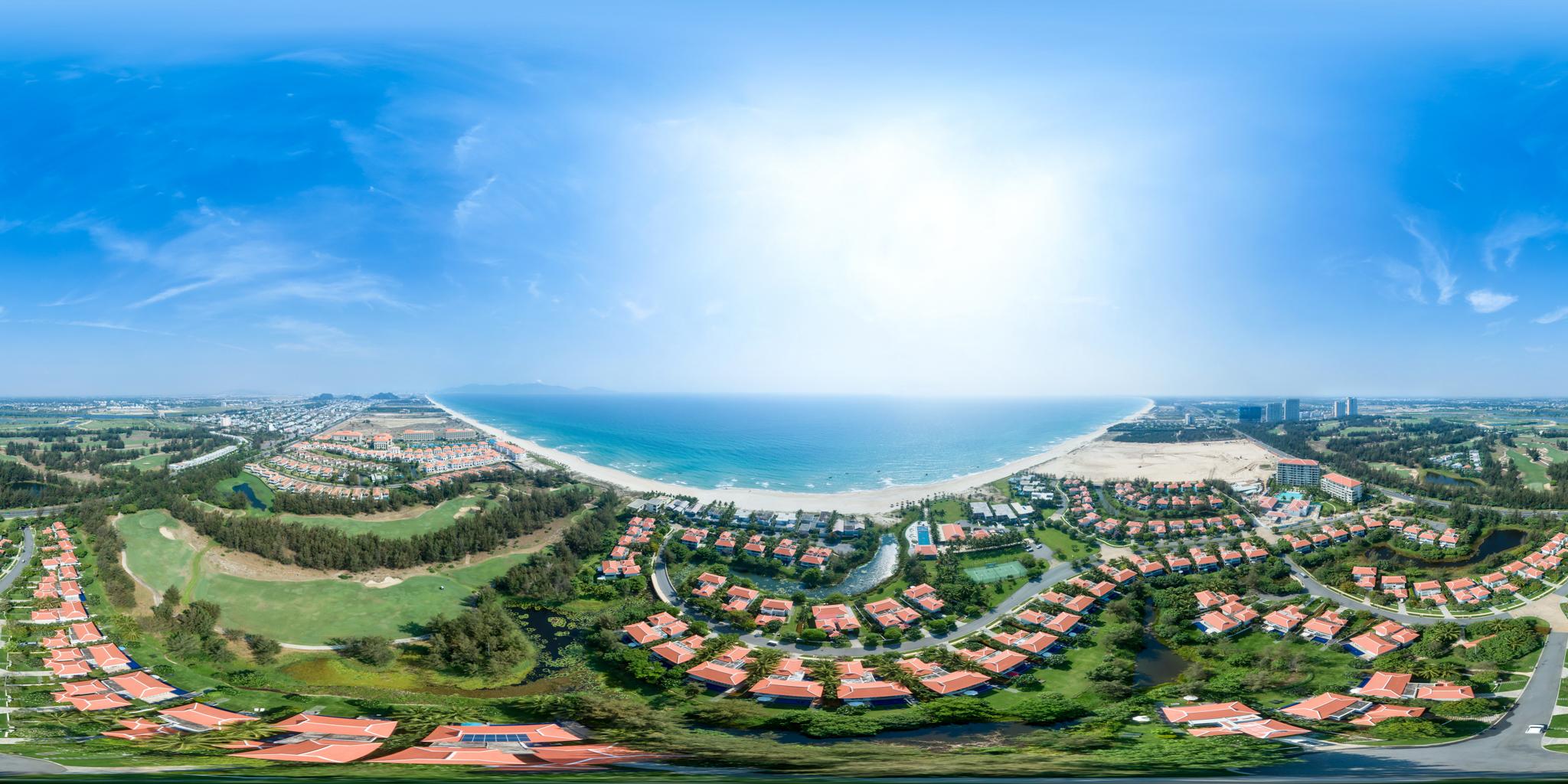 Chụp ảnh quảng cáo 360 VR The Ocean Villas Resort Da Nang