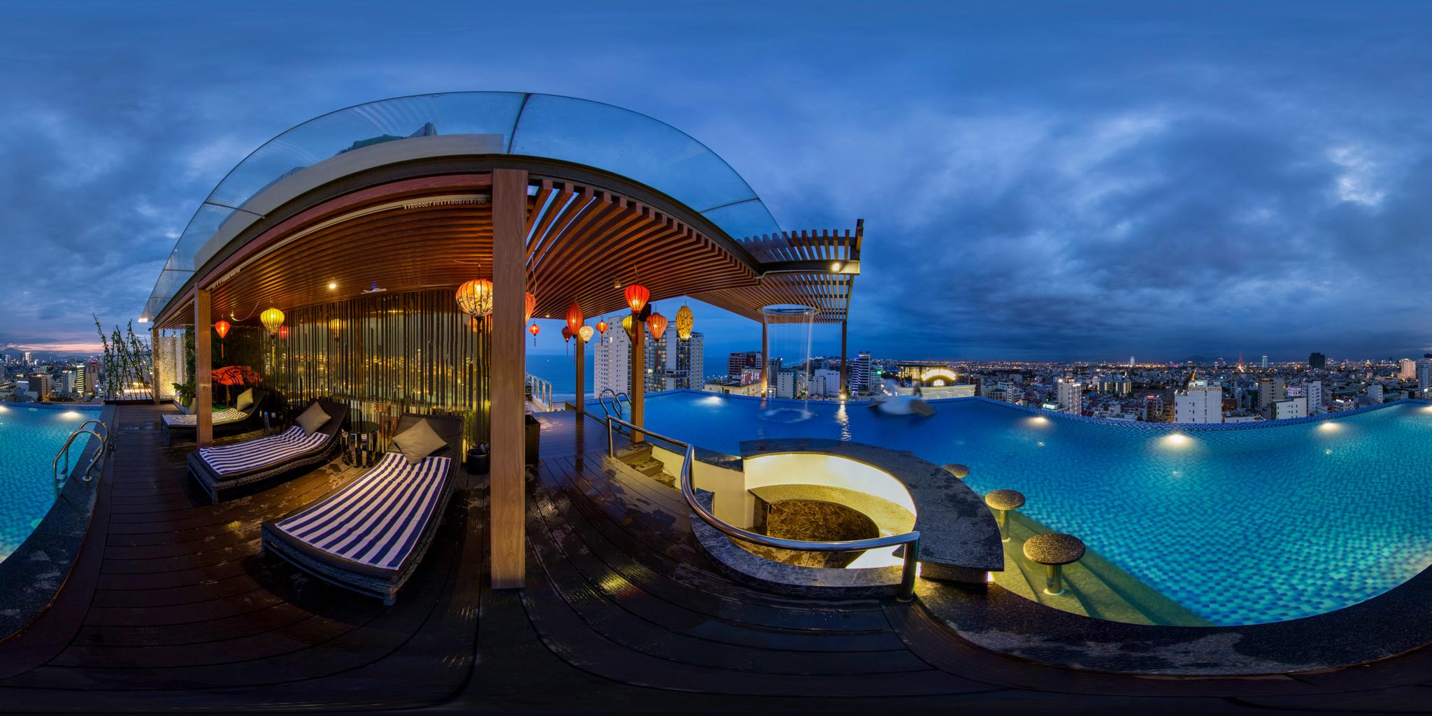 Chụp ảnh quảng cáo 360 VR khách sạn Cicilia Hotel & Spa, Đà Nẵng