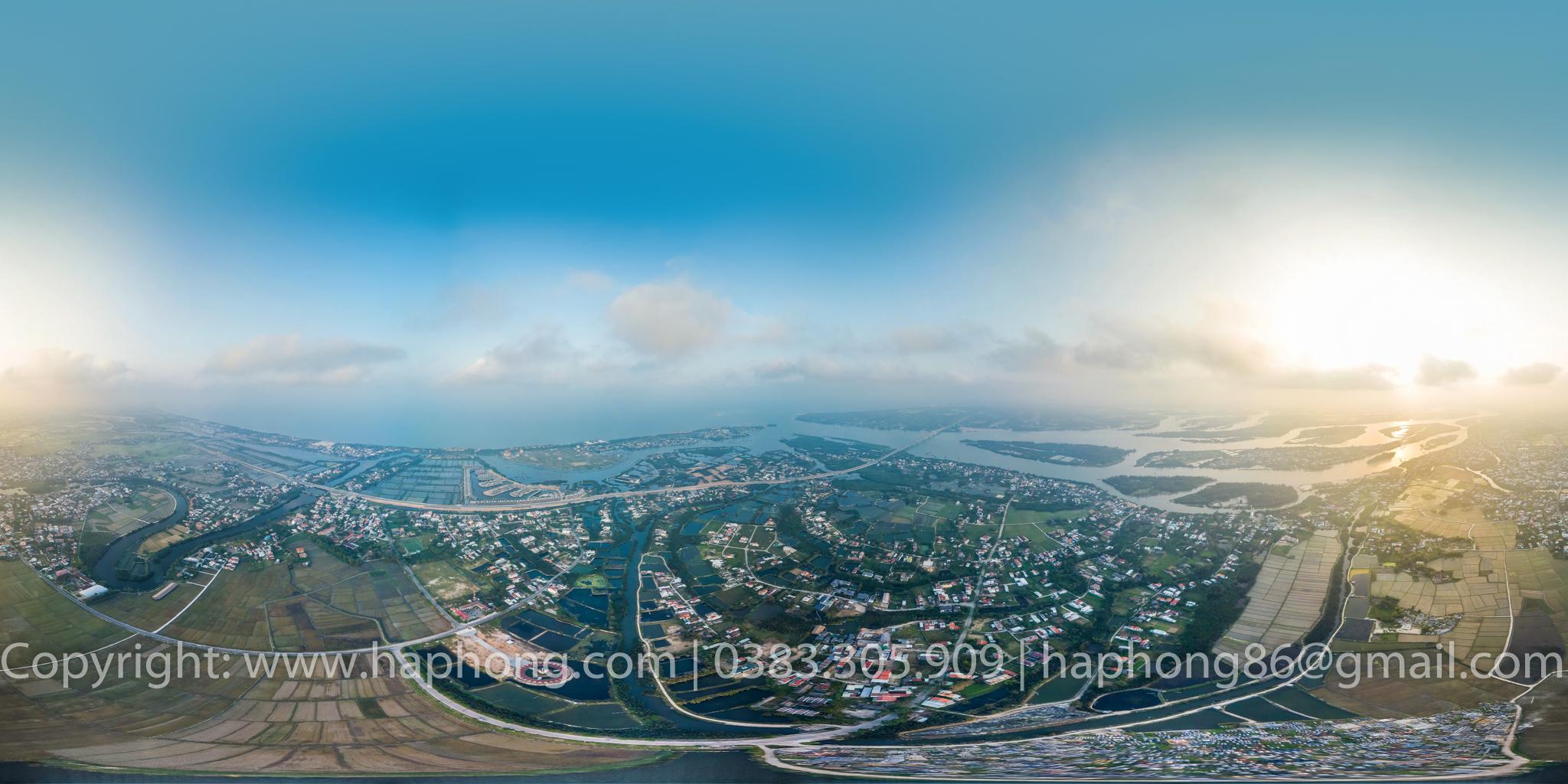 CHỤP ẢNH 360, 360 VIRTUAL TOURS, GOOGLE BUSINESS VIEW: xã Cẩm Thanh, Hội An, Quảng Nam
