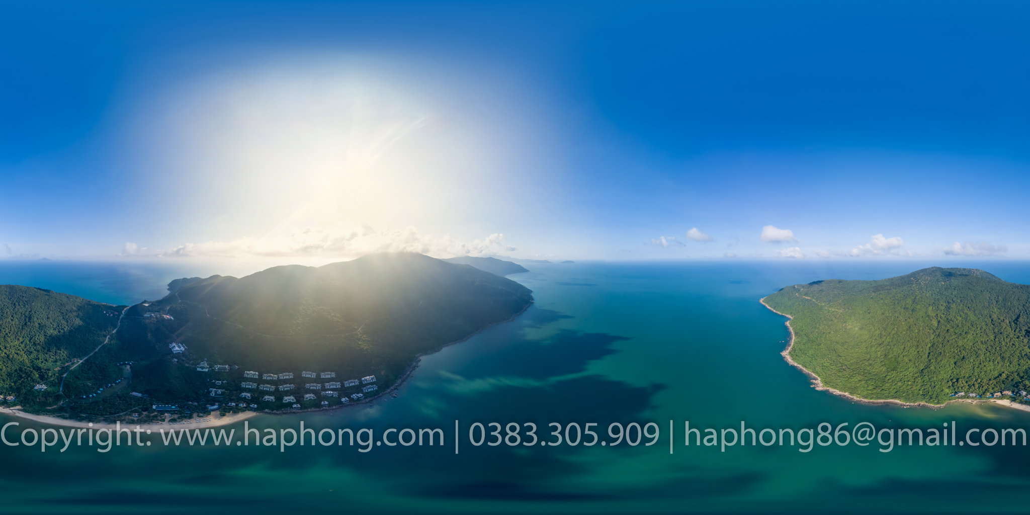 CHỤP ẢNH 360, 360 VIRTUAL TOURS, GOOGLE BUSINESS VIEW:  InterContinental Đà Nẵng Sun Peninsula Resort